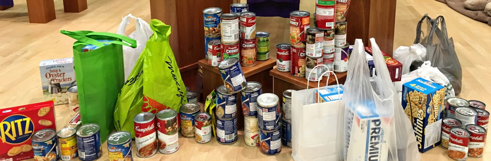 Food Pantry Collection Midvale Community Lutheran Church